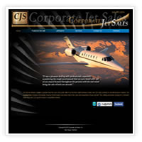 Web Design for Jet Brokers