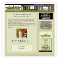 Web Design for The Drapery House