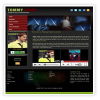 Web Design Music Virginia