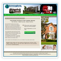 Web Design in Leesburg for Pest Control