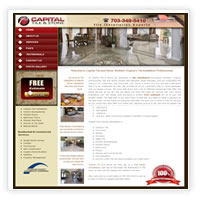 Web Design Tile and Stone