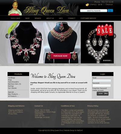 jewlry web design northern virginia