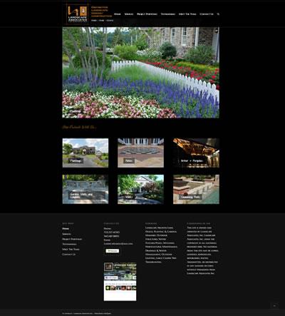Web Design Landscape Company