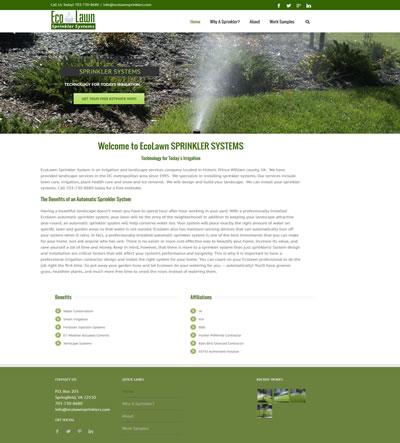 Landscape Web Design