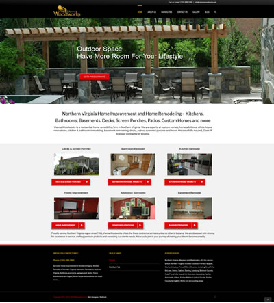 Contractor Web Design Northern Virginia