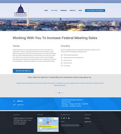 Corporate Web Design Washington, DC