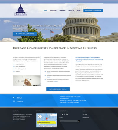 Corporate Web Design, Washington, DC