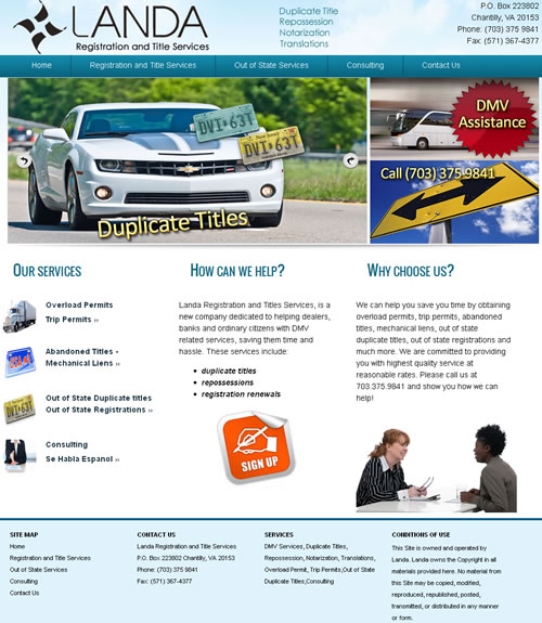 DMV Web Design Fairfax