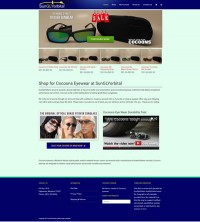 ecommerce web design for eyewear