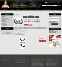 ecommerce web design jewelry