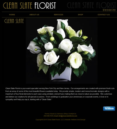 Florist Web Design Washington DC
