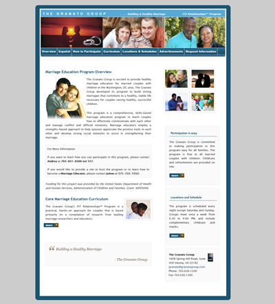Medical Web Design, Washington, DC