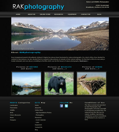 Virginia Web Design Photography