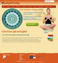 Web design yoga for ashburn company