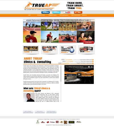 Web Design Sports Facility Virginia