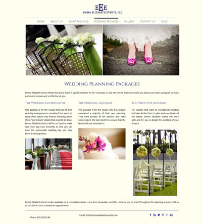 Wedding Web Design