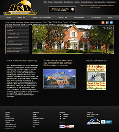 Construction WebDesign