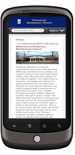 School Web Design Ashburn, VA