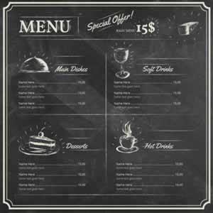 Restaurant Menu Graphic Design