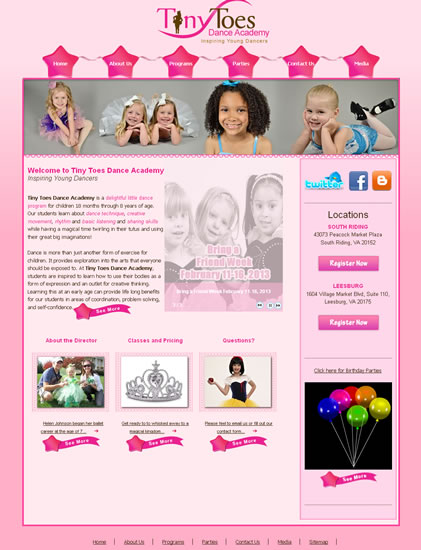South Riding Web Design