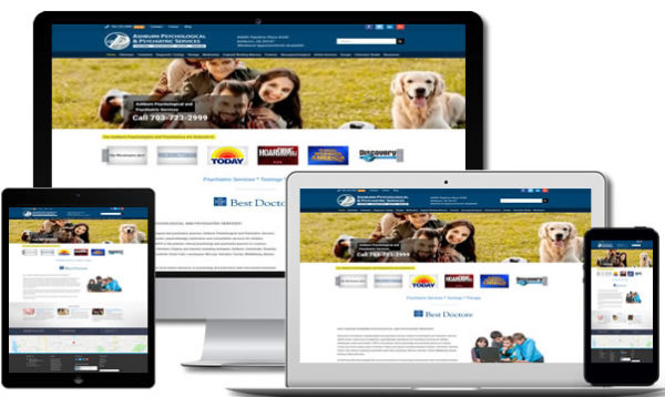 Ashburn Medical Web Design