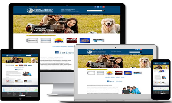 Ashburn Medical Web Design