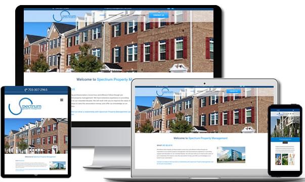 Propery Management Web Design Ashburn