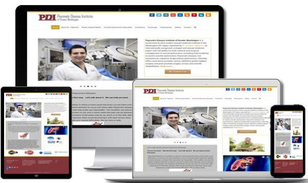 Medical Website Designer