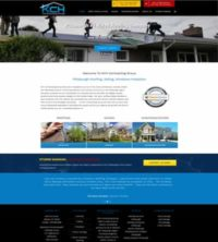Website Design Roofing Contractor