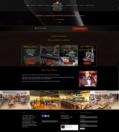 Web Design Restaurant