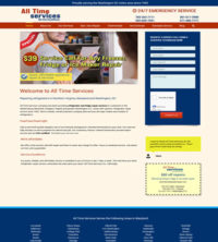 Appliance Repair Web Design