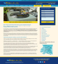 HVAC Web Design Northern Virginia