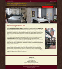 Web Design Leesburg Colonial Inn