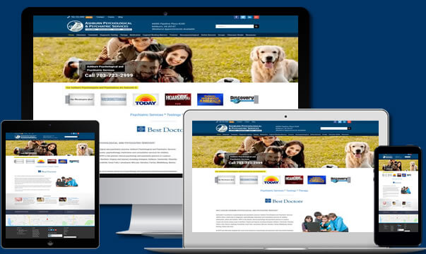 Medical Website Design Virginia