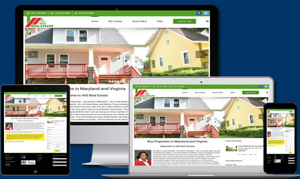 Real Estate Website Design Virginia