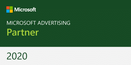 Microsoft Advertising Partner Badge